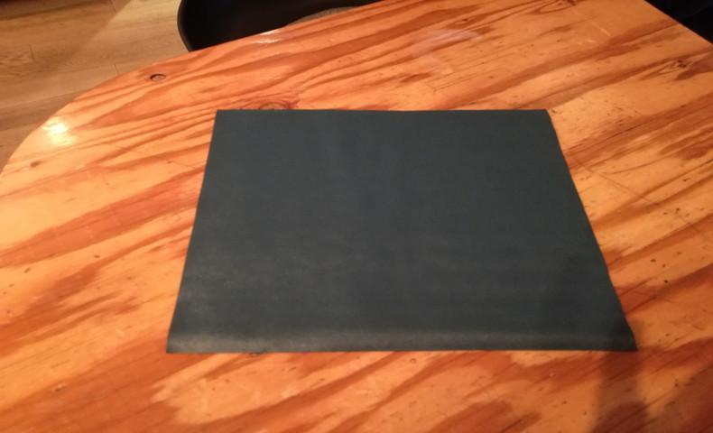 UVプリンタで印刷する予定のレザー